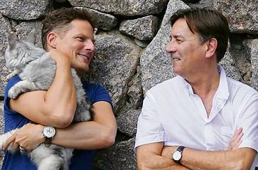 Alain Claude Sulzer und Oliver Schnyder