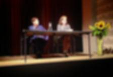 Postskriptum Buchpremiere Basel, Alain Claude Sulzer, Ursula März
