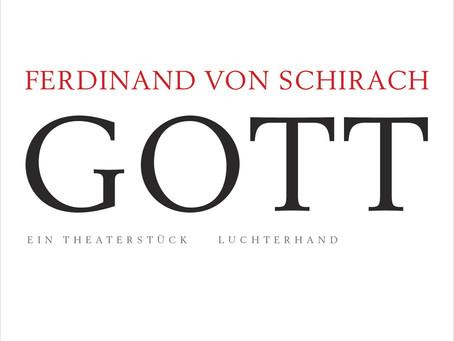 """""""Gott"""" von Ferdinand von Schirach #Rezension"""