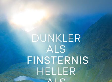 """""""Dunkler als Finsternis heller als Licht"""" von Hans Peter Royer #Rezension"""