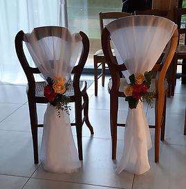 Location chaise habillée cérémonie Laval