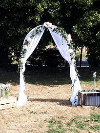 Location arche mariage Laval