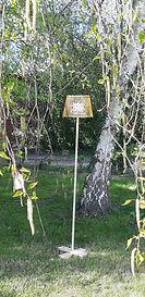 Location lampe en bois extérieure