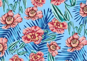 Floral/tropical print