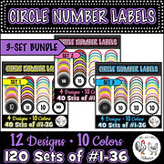 120 Circle Number Labels BUNDLE 3 Label Sets Set 1 Set 2 Set 3  Computer Lab Classroom Desk Computer Class Management Computer Organization Keyboarding Management Computer Lab Labels Fun Computer Labels Classroom Management Classroom Organization Desk Arrangement Desk Order Desk Organization Classroom Organizer Classroom Calendar Numbers Computer Numbers Seat Numbers Table Numbers Lab Numbers Supply Labels Cabinet Labels File Folder Labels Book Bin Labels Learning Center Labels Mr and Mrs Rooster