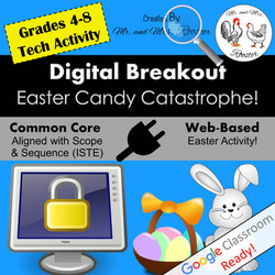 Digital Breakout Escape Room Easter Breakout Mr and Mrs Rooster
