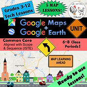 Google Maps Unit Lesson Plan Bundle - Technology Lessons Google Earth GPS Buddy Human GPS Geography Instructional Technology Google Maps Tutorial Google Earth Tutorial Google My Maps Google Street View Ocean View Sky and Space View Time Travel Sunlight Coordinates Adress Geography Unit Reading Maps Unit Google Classroom Distance Learning Technology Lessons Technology Lesson Plans Middle School Technology High School Technology Elementary Technology Computer Science Computer Class Computers Keyboarding Instructional Technology Educational Technology Technology Lesson Technology Activity Technology Curriculum Computer Curriculum Mr and Mrs Rooster