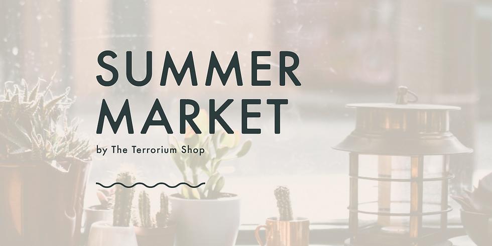 Summer Market at The Terrorium Shop