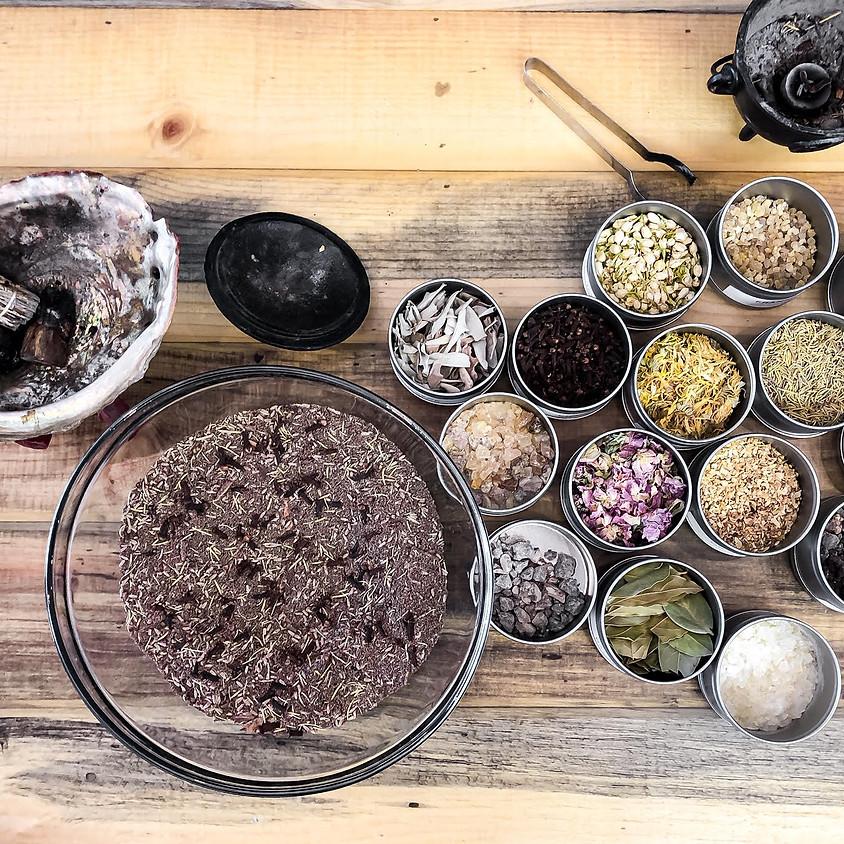 Incense and Tea Making Workshop - Package