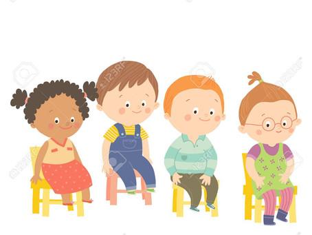 The Paradox of Sitting Still in Preschool