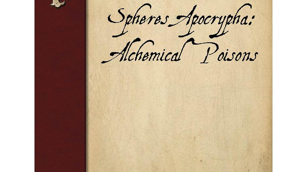 Spheres Apocrypha: Alchemical Poisons