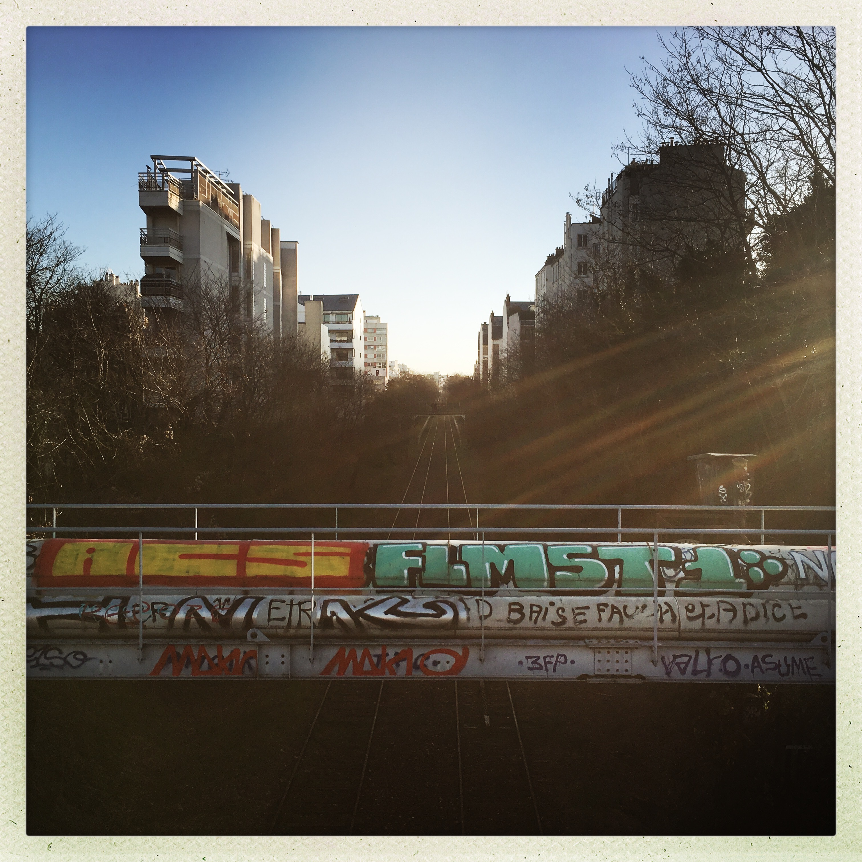 Paris, porte de Charenton