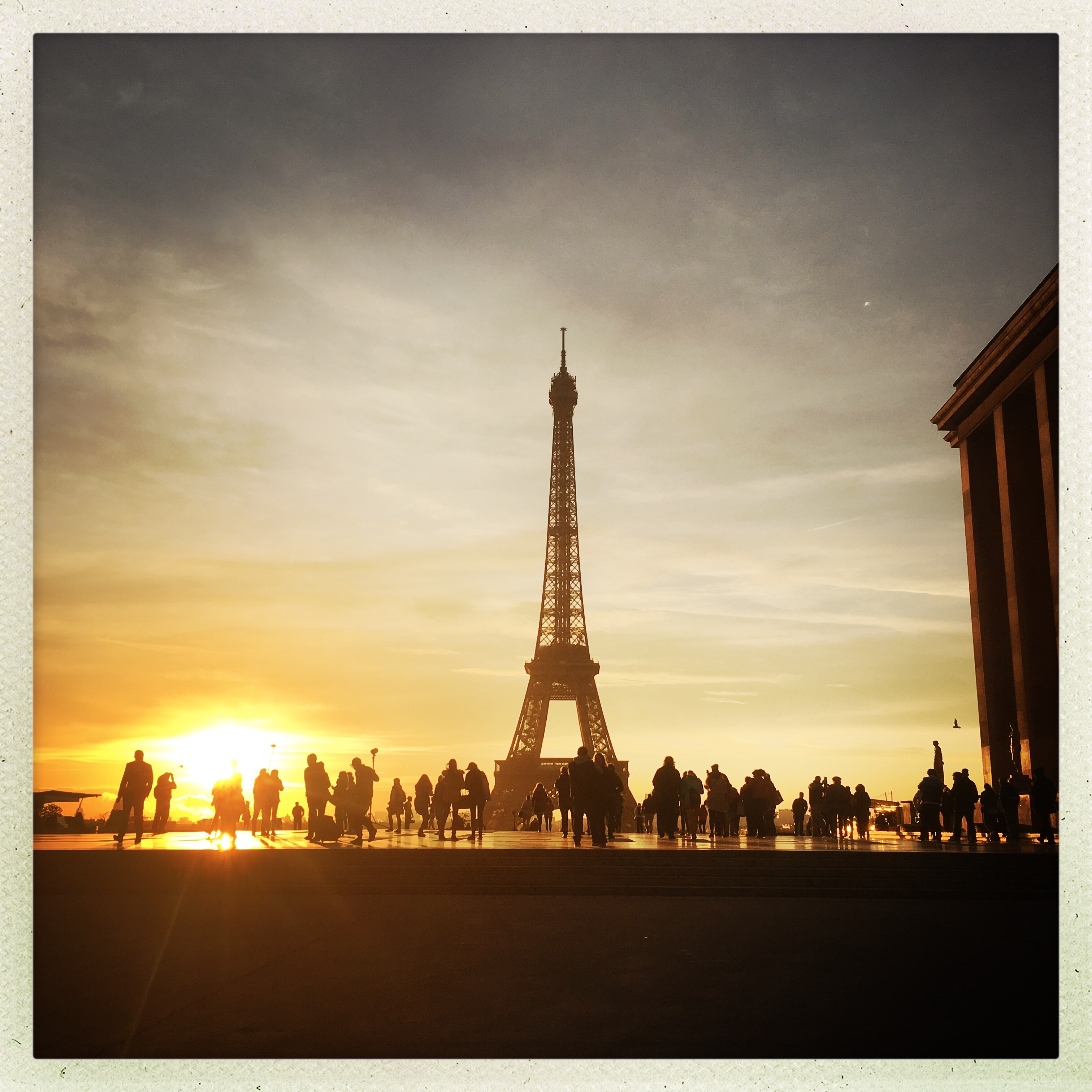 Paris, Trocadéro, Tour Eiffel, I lov