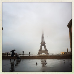 Paris, Trocadéro, Tour Eiffel