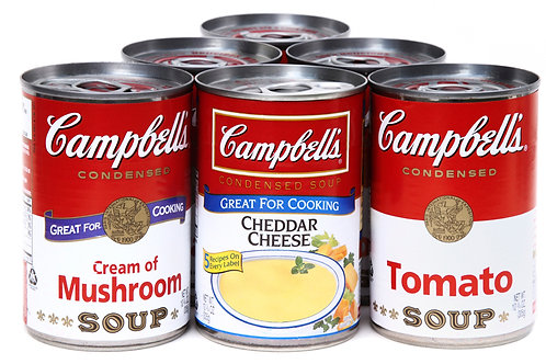 Canned Soup - 2 Cans