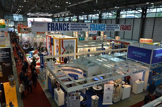 Francouzský pavilon na MSV 2015