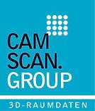 Camscan Logo, das Unternehmen  für 3D Visualisierung, virtuelle Rundgänge und 3D Aufmaß