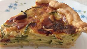 Torta di Zucchine                                       -ズッキーニのタルト-