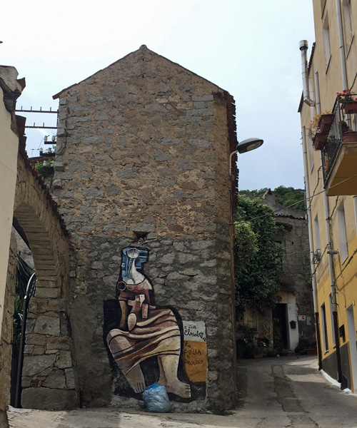オルゴゾロの壁画 その1
