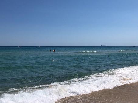 (晩)夏のサルデーニャの海
