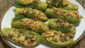 Zucchini ripieni                                     -ズッキーニのつめもの-