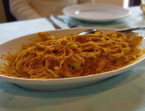 Pasta con Bottarga