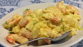 Insalata di Patate e Gamberi     -エビとジャガイモのサラダ-