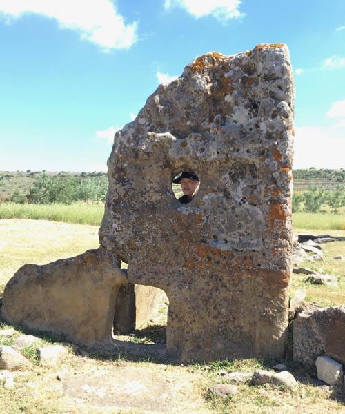 Tomba di Gigante(巨人の墓)遺跡
