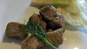 Maiale al vino -豚肉のマリネ焼き-