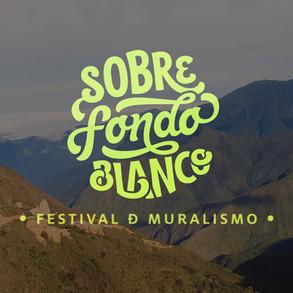 Sobre Fondo Blanco - Festival de muralismo 2020