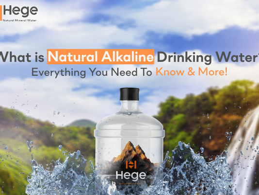 Everything You Need to Know About Natural Alkaline Drinking Water