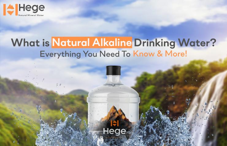 Natural Alkaline Drinking Water