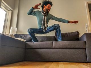 Couchsurfing:Para um bom viajante,um sofá basta