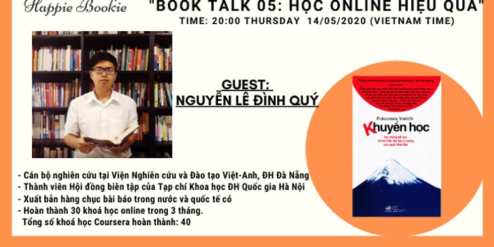 Online Book talk 05: Phương Pháp Học Online Hiệu Quả