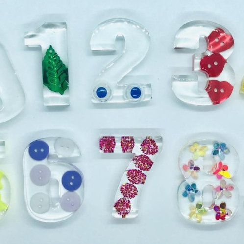 Complete Set of Numbers and Alphabet