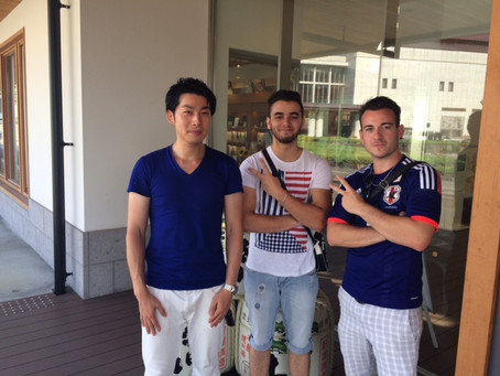 Guests from France.