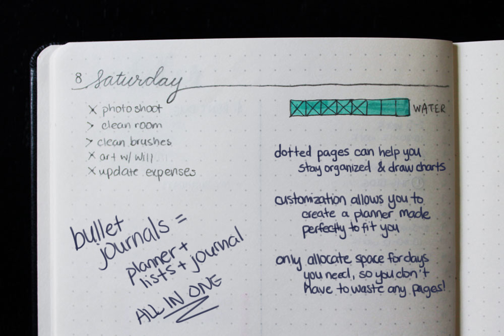 Bullet Journal Daily Notes