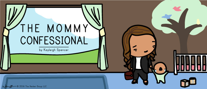 The Mommy Confessional by Kayleigh Spencer