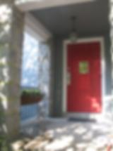 The Christ Church Day School door welcomes you