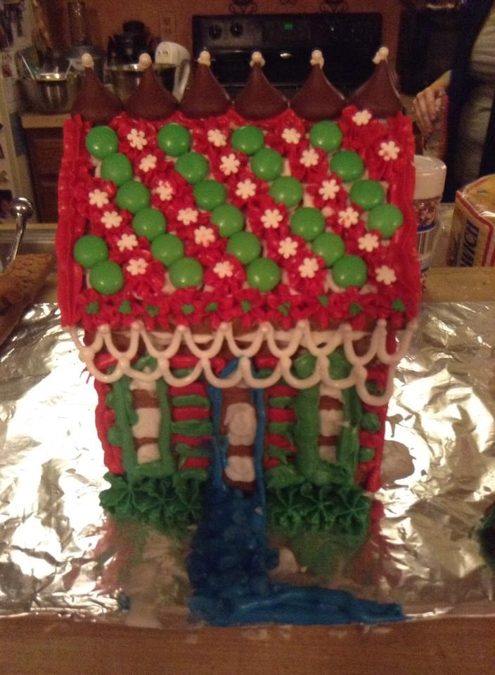 Maddie's Gingerbread House