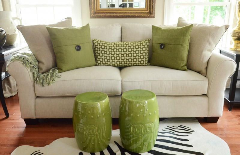 Greenery Throw Pillows