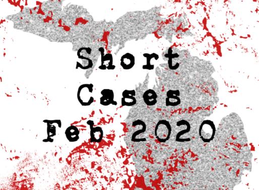 February Short Cases 2020