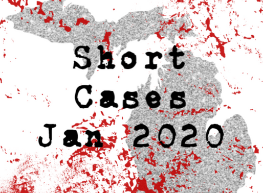 January Short Cases 2020