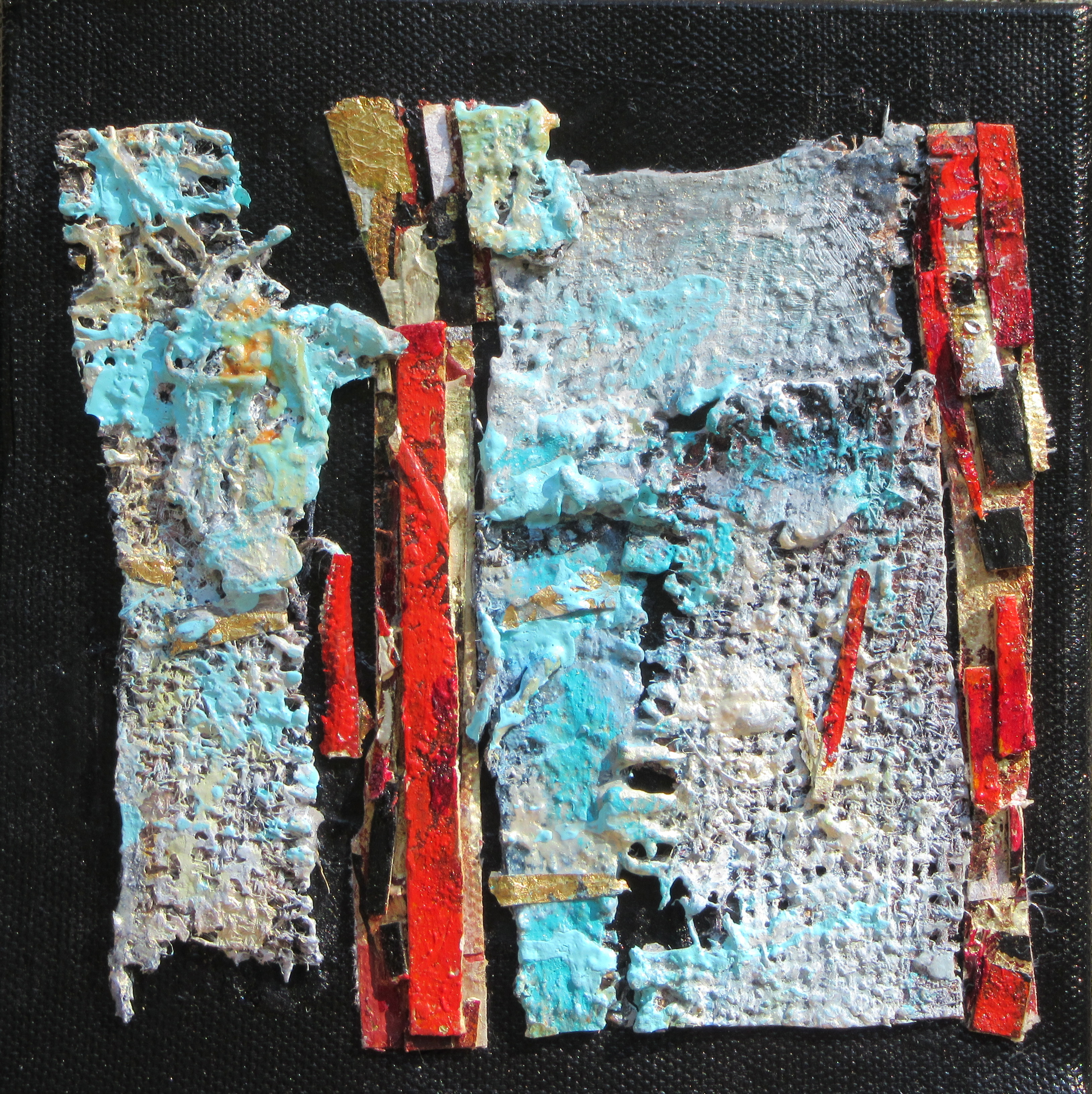 Fragile fragment of wall.SOLD