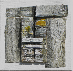 Stone crevice.