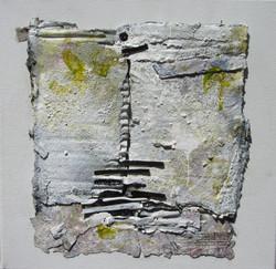 Bindings on stone wall. SOLD