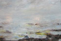 Sea & mist merge at the Avon estuary