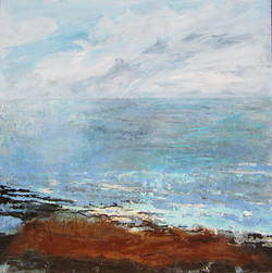 Looking from shore to sea. SOLD