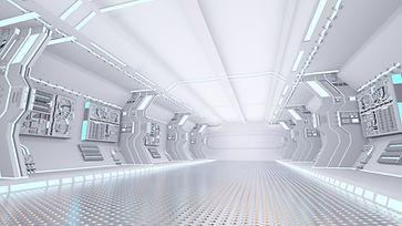 宇宙船の内部