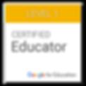 Certified Google Level I Educator